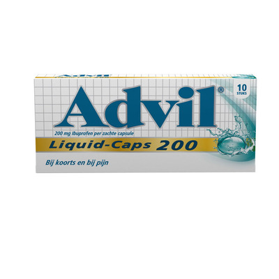 Advil Liquid caps 200 mg