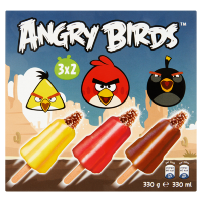IJsjes Angry birds 6st