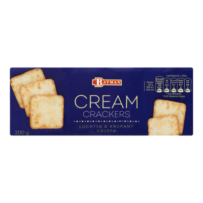 Bayman Cream Crackers
