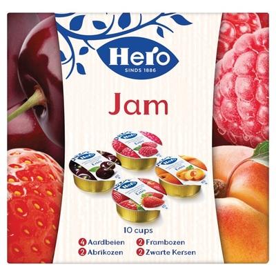 Hero jam cupjes 10-pack