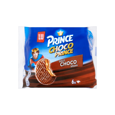 Prince Biscuit Choco Prince Choco 6 Koekjes