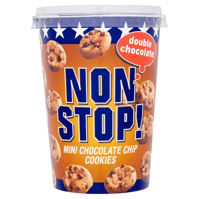 Non Stop! Mini Chocolate Chip Cookies Double Chocolate 125 g