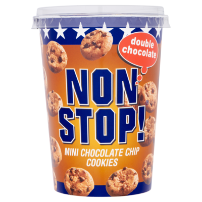 Non Stop Mini double chocolate chip cookie