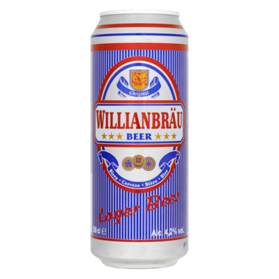 Willianbräu Lager Bier Blik