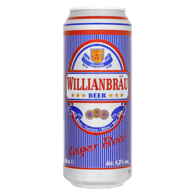 Willianbräu Lager Bier Blik