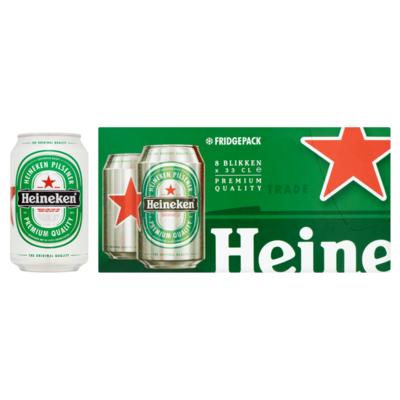 Heineken Premium Pilsener Fridgepack Blik
