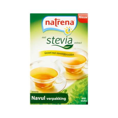 Natrena Stevia Zoetjes Navulverpakking