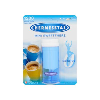 Hermesetas Mini Sweeteners 1200 Tabletten