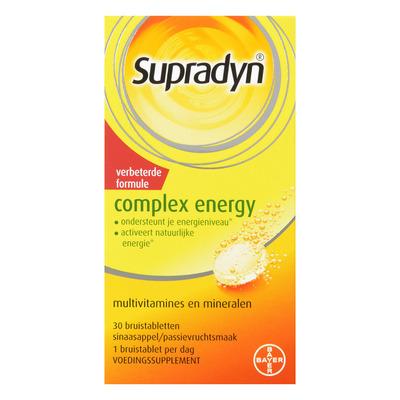 Supradyn Complex energy bruistabletten