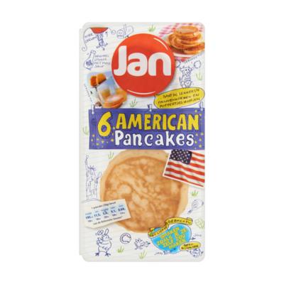 Jan American Pancakes 6 Stuks