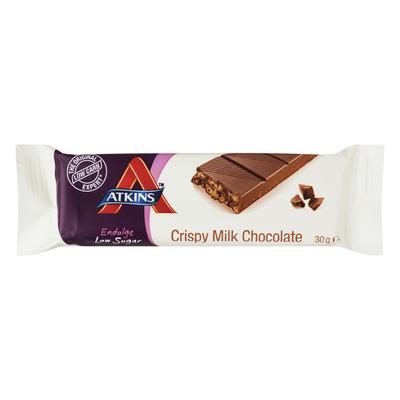 Atkins Endulge reep krokante melkchocolade