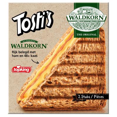 Topking Tosti's waldkorn ham & kaas