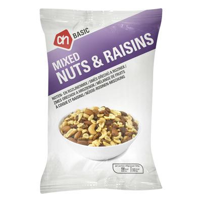 Budget Huismerk Mix nuts & raisins