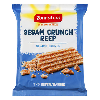 Zonnatura Sesam crunch reep
