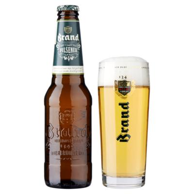 Brand Bier Fles