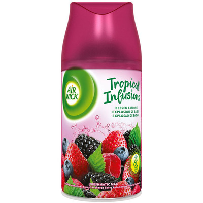 Airwick Fresmatic tropical infus bessenexplosie