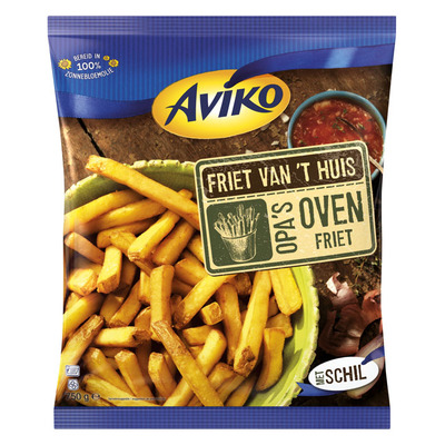 Aviko Friet van 't huis opa's oven friet