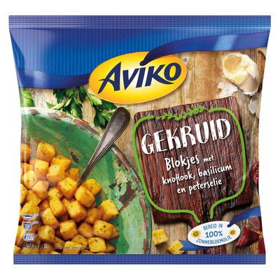 Aviko Gekruide aardappelblokjes