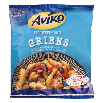 Aviko Aardappelschotel Grieks