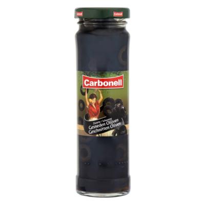 Carbonell Zwarte Gesneden Olijven