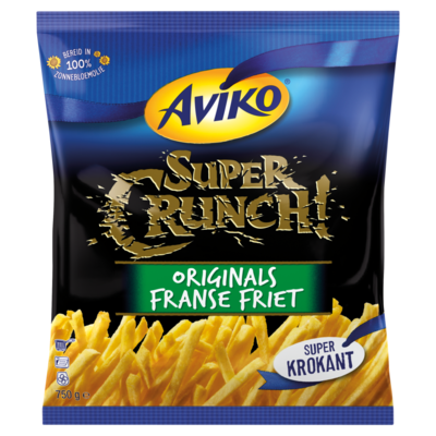 Aviko SuperCrunch Originals Franse Friet 750 g