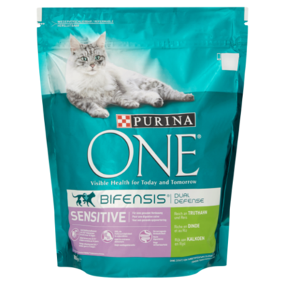 One Purina sensitive kalkoen en rijst