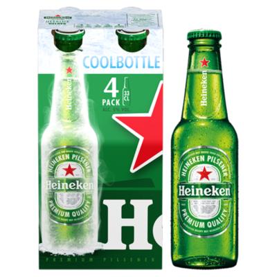 Heineken Premium Pilsener Coolbottle Flessen