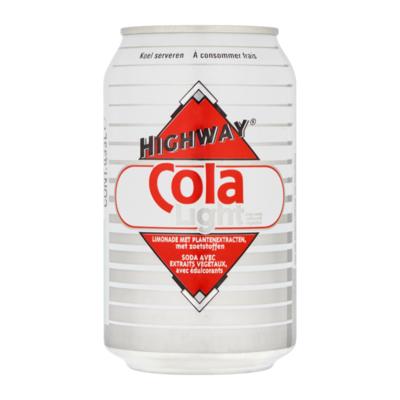 Highway Cola Light Suikervrij