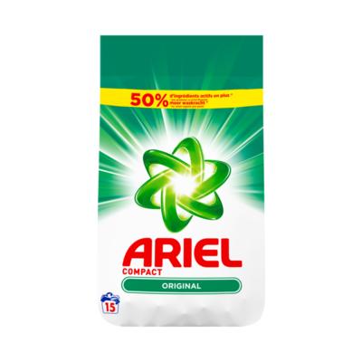 Ariel Original Waspoeder 1125g 15 Wasbeurten Vlekverwijderaar