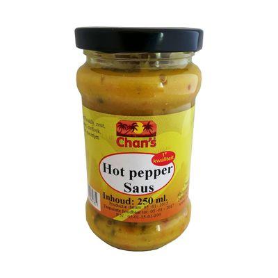 Chan's Hot Pepper Saus