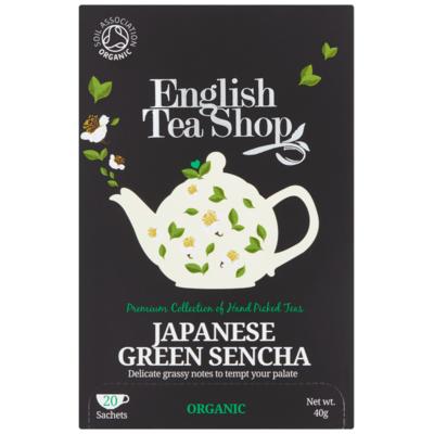 English Tea Shop Tea green sencha 20 stuks