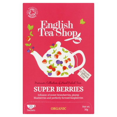 English Tea Shop Super Berries 20 Stuks 30 g