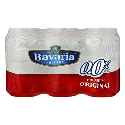 Bavaria 0.0% Original blik pils alcoholvrij bier