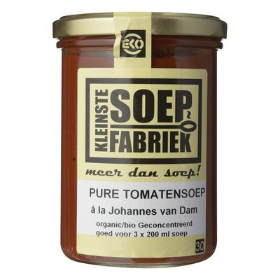 Kleinste Soepfabriek Tomatensoep puur a la Johannes van Dam