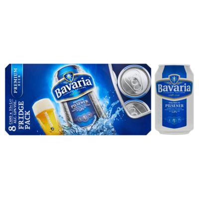 Bavaria Premium Pilsener Fridgepack Blik Bier