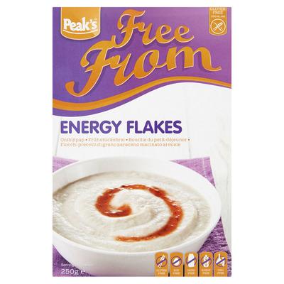 Peak's Energy flakes glutenvrij