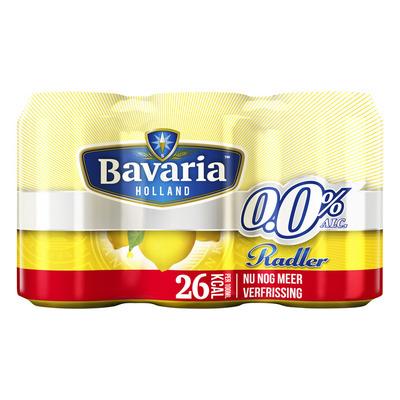 Bavaria Radler 0.0% lemon