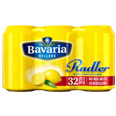 Bavaria Radler lemon 2.0% citroen