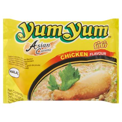 Yum Yum Asian Cuisine Instant Noedels Kipsmaak 60 g