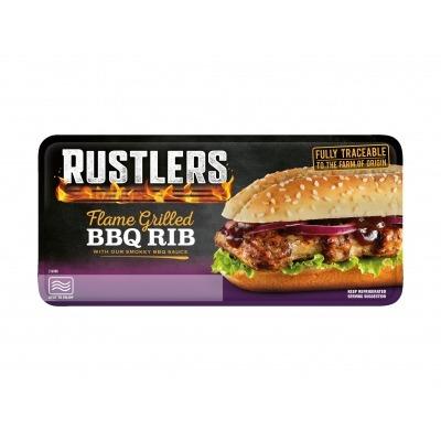 Rustlers BBQ rib