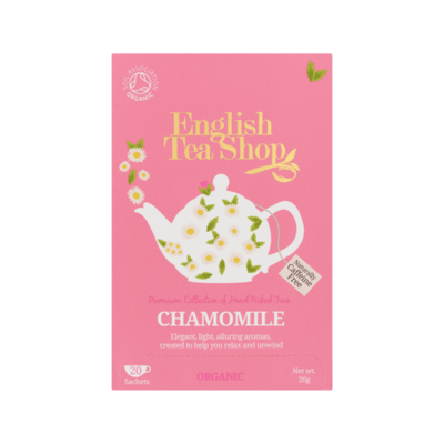 English Tea Shop Chamomile 20 Stuks