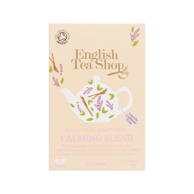 English Tea Shop Calming Tea 20 Stuks