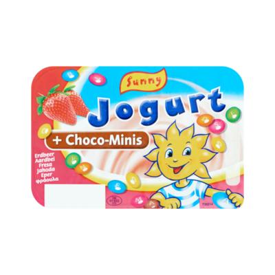 Sunny Jogurt Aardbei + Choco-Minis