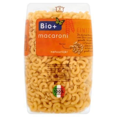 Bio+ Macaroni wit