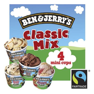 Ben & Jerry's IJs classic mix