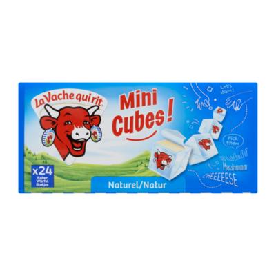 La Vache qui rit Mini Cubes! Smeerkaas 45+ Naturel 24 Blokjes