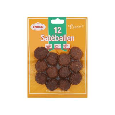 Enkco Satéballen Classic 12 Stuks 200 g