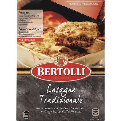 Bertolli Maaltijdpakket lasagne traditional