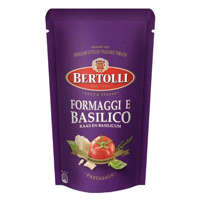 Bertolli Pastasaus in zak kaas & basilicum