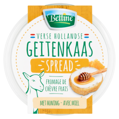 Bettine Geitenkaas spread honing